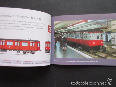 Coleccionismo Billetes de transporte: LIBRO 25 IMAGENES EN LA HISTORIA DEL TRANSPORTE PUBLICO MADRID, METRO AUTOBUS FERROCARRIL - Foto 7 - 57808073