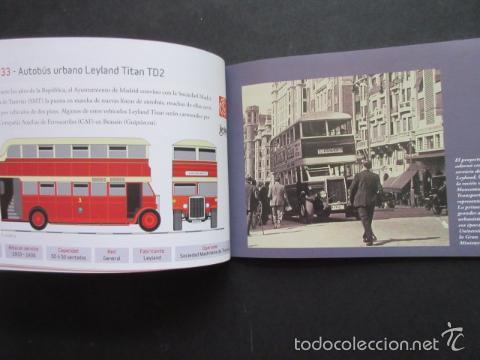 Coleccionismo Billetes de transporte: LIBRO 25 IMAGENES EN LA HISTORIA DEL TRANSPORTE PUBLICO MADRID, METRO AUTOBUS FERROCARRIL - Foto 8 - 57808073