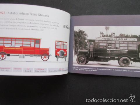 Coleccionismo Billetes de transporte: LIBRO 25 IMAGENES EN LA HISTORIA DEL TRANSPORTE PUBLICO MADRID, METRO AUTOBUS FERROCARRIL - Foto 9 - 57808073