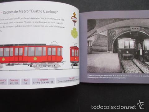 Coleccionismo Billetes de transporte: LIBRO 25 IMAGENES EN LA HISTORIA DEL TRANSPORTE PUBLICO MADRID, METRO AUTOBUS FERROCARRIL - Foto 11 - 57808073