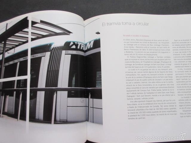Coleccionismo Billetes de transporte: LIBRO ATM AUTORIDAD DEL TRANSPORT 10 ANYS DE HISTORIES METROPOLITA BARCELONA - Foto 4 - 57808154