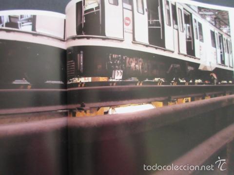 Coleccionismo Billetes de transporte: LIBRO ATM AUTORIDAD DEL TRANSPORT 10 ANYS DE HISTORIES METROPOLITA BARCELONA - Foto 12 - 57808154