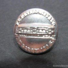 Coleccionismo Billetes de transporte: BOTON DE FERROCARRIL METROPOLITANO DE BARCELONA METRO. Lote 59856520