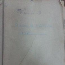 Coleccionismo Billetes de transporte: RENFE. LIBRO DE ENTREGA DE EXPEDICIONES Y HOJAS DE RUTA 1969. Lote 61582392
