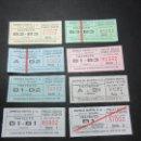 Coleccionismo Billetes de transporte: LOTE 9 BILLETES DIFERENTES EMPRESA MARTIN MADRID. Lote 63010427
