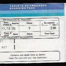 Collezionismo Biglietti di trasporto: AVIACO * TARJETA DE EMBARQUE *. Lote 66794922