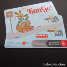 Coleccionismo Billetes de transporte: TARJETA DE PLASTICO CANGURO . Lote 67111537