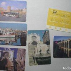 Coleccionismo Billetes de transporte: LOTE BILLETES BUS TARRAGONA. Lote 67768425