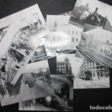 Coleccionismo Billetes de transporte: COLECCION 8 POSTALES CONMEMORATIVAS 150 AÑOS FERROCARRIL DE SARRIA. Lote 69527233