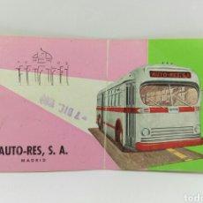 Coleccionismo Billetes de transporte: BILLETE AUTO-RES LINEA VALENCIA-MADRID 1969. Lote 70241871