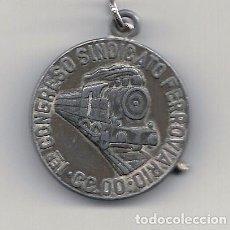Coleccionismo Billetes de transporte: LLAVERO 1º CONGRESO SINDICATO FERROVIARIO CC.OO.. Lote 75212827