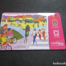 Coleccionismo Billetes de transporte: TARJETA PLASTICO URBANOS DE GRANADA. Lote 78412753