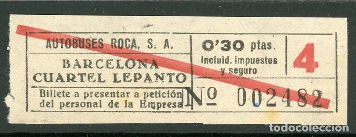 billete de autobuses roca // barcelona - cuarte - Comprar Billetes ...