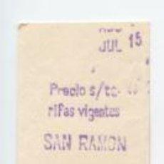 Sammeln von Fahrkarten - FERROCARRIL METROPOLITANO METRO BARCELONA - PARADA SAN RAMON /// HOY COLLBLANC - 89297564