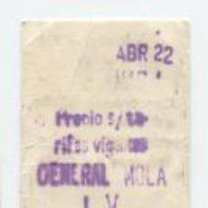 Sammeln von Fahrkarten - FERROCARRIL METROPOLITANO METRO BARCELONA - PARADA GENERAL MOLA L - V /// HOY VERDAGUER - 89298152