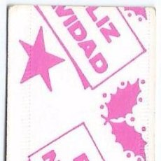 Coleccionismo Billetes de transporte: METRO - FELIZ NAVIDAD (1982). Lote 70503069