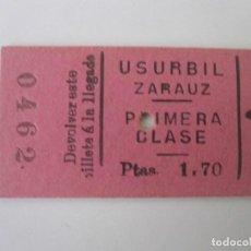 Coleccionismo Billetes de transporte: FV PRIMERA ANTIGUO. Lote 97128667