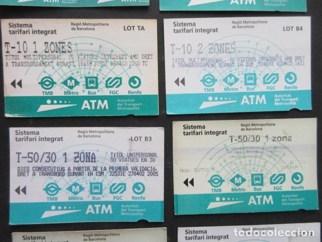 Coleccionismo Billetes de transporte: LOTE DE 21 ANTIGUAS TARJETAS TODAS DIFERENTES LEER INTERIOR T-10 1 ZONA VER DETALLES - Foto 3 - 97368119