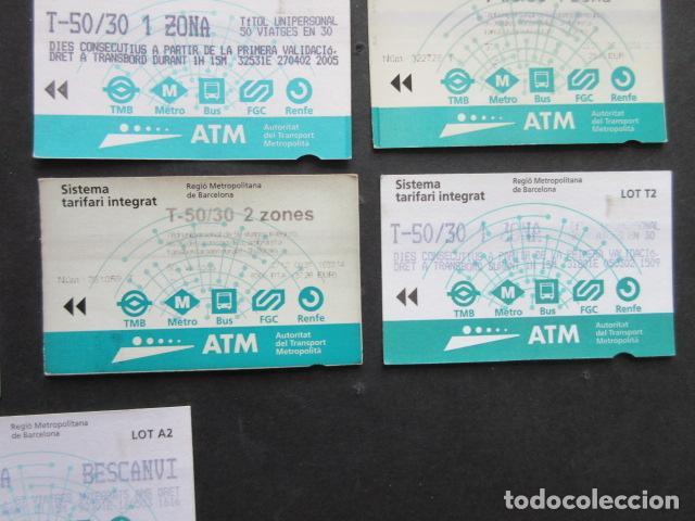 Coleccionismo Billetes de transporte: LOTE DE 21 ANTIGUAS TARJETAS TODAS DIFERENTES LEER INTERIOR T-10 1 ZONA VER DETALLES - Foto 4 - 97368119