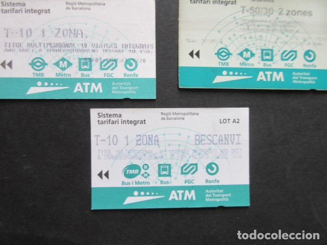 Coleccionismo Billetes de transporte: LOTE DE 21 ANTIGUAS TARJETAS TODAS DIFERENTES LEER INTERIOR T-10 1 ZONA VER DETALLES - Foto 5 - 97368119