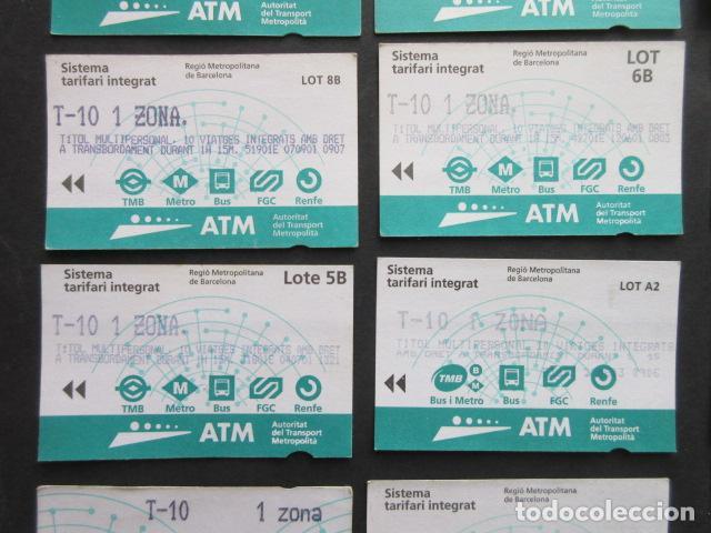 Coleccionismo Billetes de transporte: LOTE DE 21 ANTIGUAS TARJETAS TODAS DIFERENTES LEER INTERIOR T-10 1 ZONA VER DETALLES - Foto 7 - 97368119
