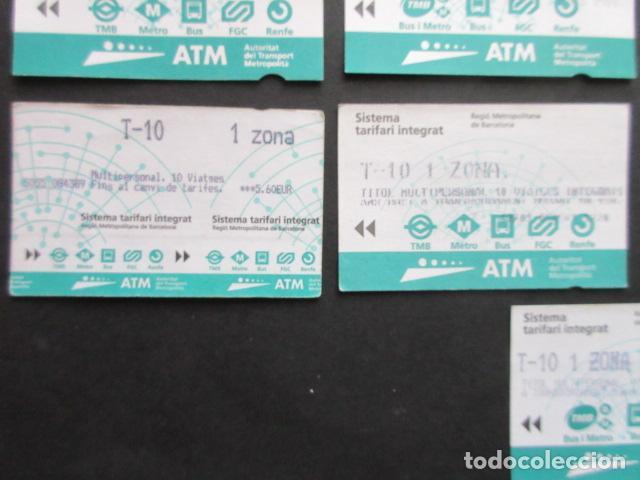 Coleccionismo Billetes de transporte: LOTE DE 21 ANTIGUAS TARJETAS TODAS DIFERENTES LEER INTERIOR T-10 1 ZONA VER DETALLES - Foto 8 - 97368119