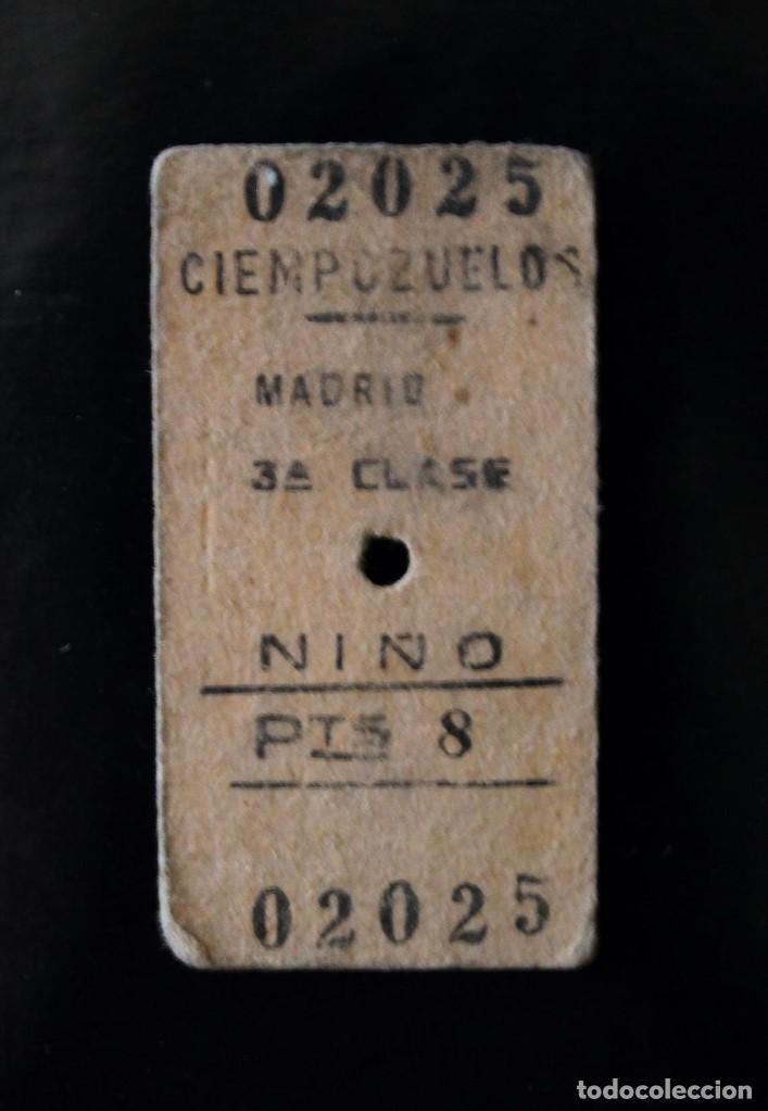 ANTIGUOS BILLETES DE TRANSPORTE (Coleccionismo - Billetes de Transporte)