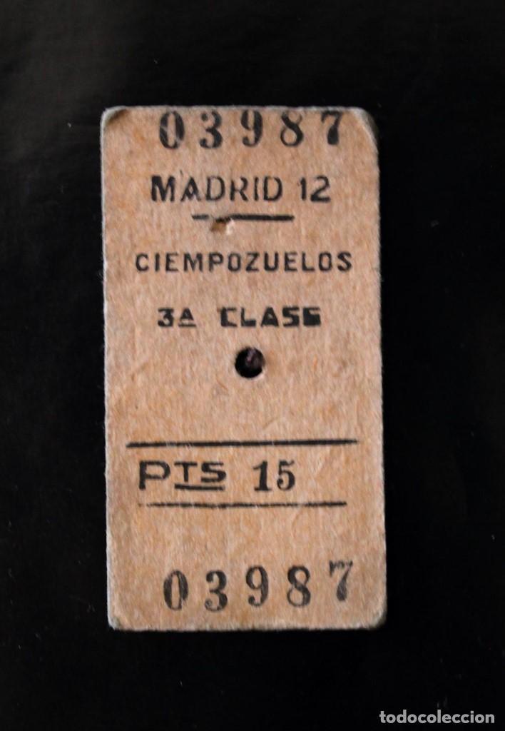 Coleccionismo Billetes de transporte: Antiguos Billetes de Transporte - Foto 3 - 100447787