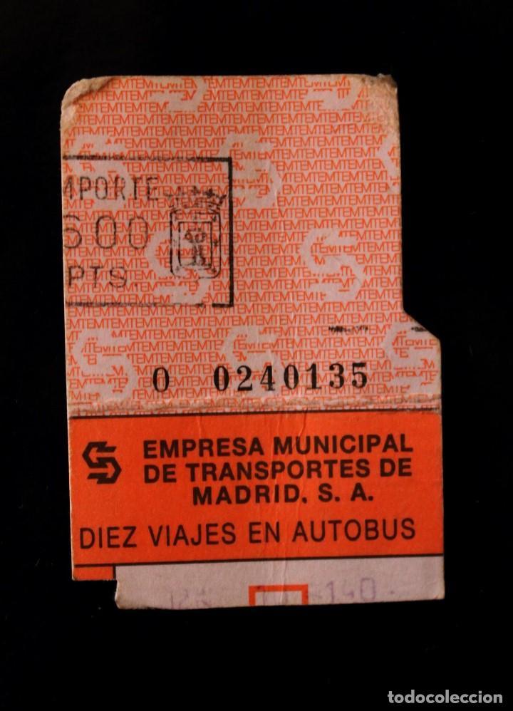Coleccionismo Billetes de transporte: Antiguos Billetes de Transporte - Foto 5 - 100447787