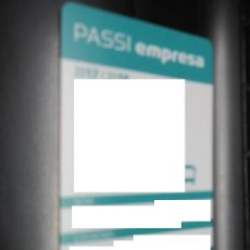 Coleccionismo Billetes de transporte: PASSI EMPRESA. Lote 175836530