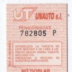 Coleccionismo Billetes de transporte: (ALB-TC-18) BONO BUS AUTOBUS NUEVA TOLEDO. Lote 101411159