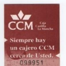 Coleccionismo Billetes de transporte: (ALB-TC-18) BONO BUS AUTOBUS NUEVA ALBACETE. Lote 101411431