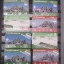 Coleccionismo Billetes de transporte: LOTE 33 TARJETAS DIFERENTES FERROCARRILES GENERALITAT AEREO CREMALLERA MONTSERRAT Y DIVERSAS. Lote 101750687