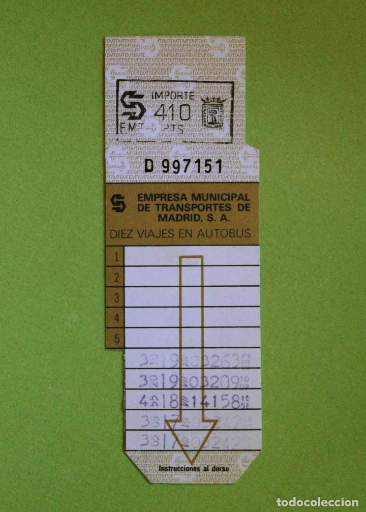 Antiguo bonobus emt madrid - Sold through Direct Sale - 104802255
