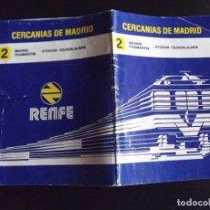 Coleccionismo Billetes de transporte: TRANSPORTE-V37-RENFE-CERCANIAS DE MADRID. Lote 109148039