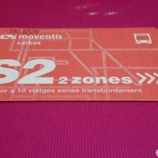 Coleccionismo Billetes de transporte: TARJETA MOVENTIS. Lote 109993112