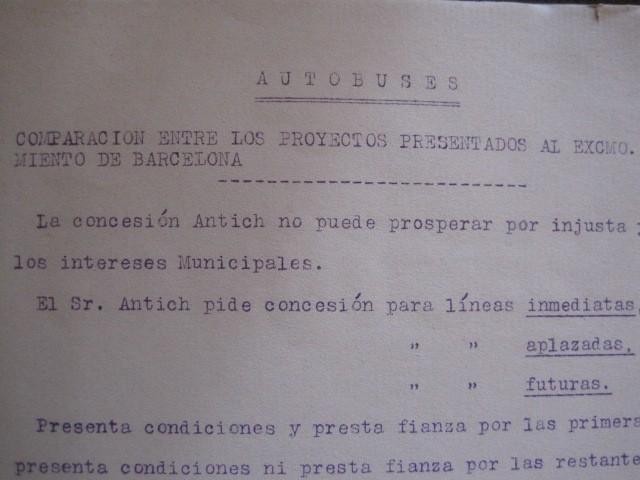 Coleccionismo Billetes de transporte: TRANVIAS DE BARCELONA S.A. - VENTAJAS LINEAS - DOCUMENTO CON PLANO - VER FOTOS - (V-13.312) - Foto 8 - 110899899