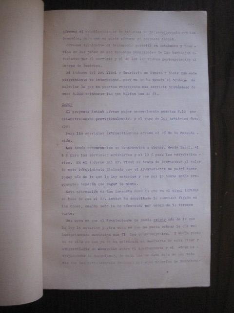 Coleccionismo Billetes de transporte: TRANVIAS DE BARCELONA S.A. - VENTAJAS LINEAS - DOCUMENTO CON PLANO - VER FOTOS - (V-13.312) - Foto 10 - 110899899