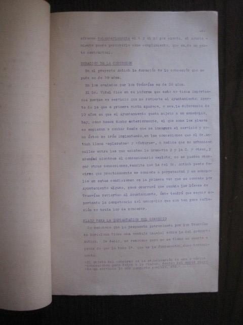 Coleccionismo Billetes de transporte: TRANVIAS DE BARCELONA S.A. - VENTAJAS LINEAS - DOCUMENTO CON PLANO - VER FOTOS - (V-13.312) - Foto 11 - 110899899