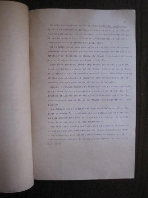 Coleccionismo Billetes de transporte: TRANVIAS DE BARCELONA S.A. - VENTAJAS LINEAS - DOCUMENTO CON PLANO - VER FOTOS - (V-13.312) - Foto 12 - 110899899