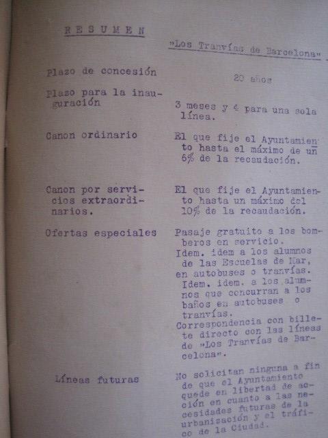 Coleccionismo Billetes de transporte: TRANVIAS DE BARCELONA S.A. - VENTAJAS LINEAS - DOCUMENTO CON PLANO - VER FOTOS - (V-13.312) - Foto 14 - 110899899