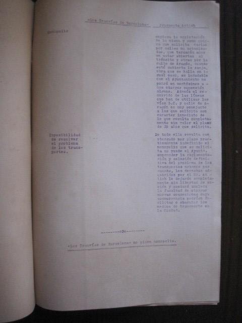 Coleccionismo Billetes de transporte: TRANVIAS DE BARCELONA S.A. - VENTAJAS LINEAS - DOCUMENTO CON PLANO - VER FOTOS - (V-13.312) - Foto 15 - 110899899
