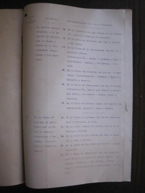Coleccionismo Billetes de transporte: TRANVIAS DE BARCELONA S.A. - VENTAJAS LINEAS - DOCUMENTO CON PLANO - VER FOTOS - (V-13.312) - Foto 17 - 110899899