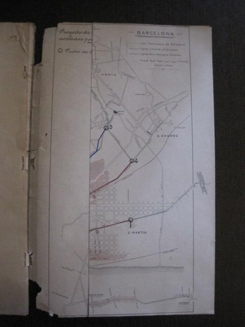 Coleccionismo Billetes de transporte: TRANVIAS DE BARCELONA S.A. - VENTAJAS LINEAS - DOCUMENTO CON PLANO - VER FOTOS - (V-13.312) - Foto 19 - 110899899