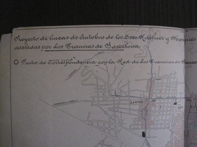 Coleccionismo Billetes de transporte: TRANVIAS DE BARCELONA S.A. - VENTAJAS LINEAS - DOCUMENTO CON PLANO - VER FOTOS - (V-13.312) - Foto 21 - 110899899