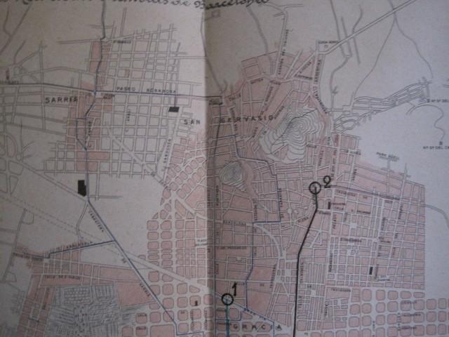 Coleccionismo Billetes de transporte: TRANVIAS DE BARCELONA S.A. - VENTAJAS LINEAS - DOCUMENTO CON PLANO - VER FOTOS - (V-13.312) - Foto 22 - 110899899