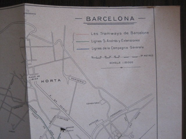 Coleccionismo Billetes de transporte: TRANVIAS DE BARCELONA S.A. - VENTAJAS LINEAS - DOCUMENTO CON PLANO - VER FOTOS - (V-13.312) - Foto 24 - 110899899