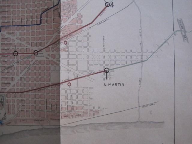 Coleccionismo Billetes de transporte: TRANVIAS DE BARCELONA S.A. - VENTAJAS LINEAS - DOCUMENTO CON PLANO - VER FOTOS - (V-13.312) - Foto 25 - 110899899