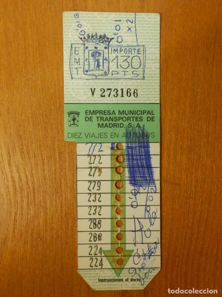 Billetes de Transporte - Bono Bus - 130 Pts