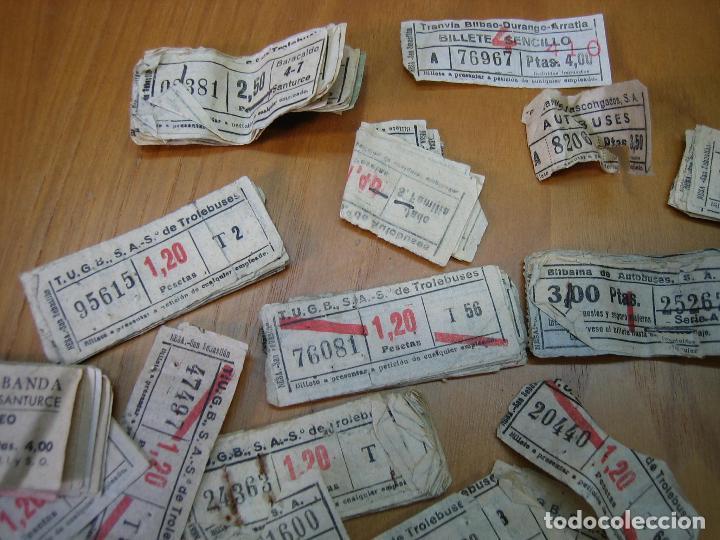 Coleccionismo Billetes de transporte: Lote de antiguos billetes de transporte - Foto 4 - 118302639